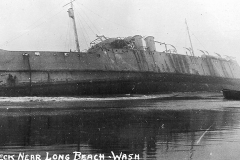 Wreck Near Long Beach