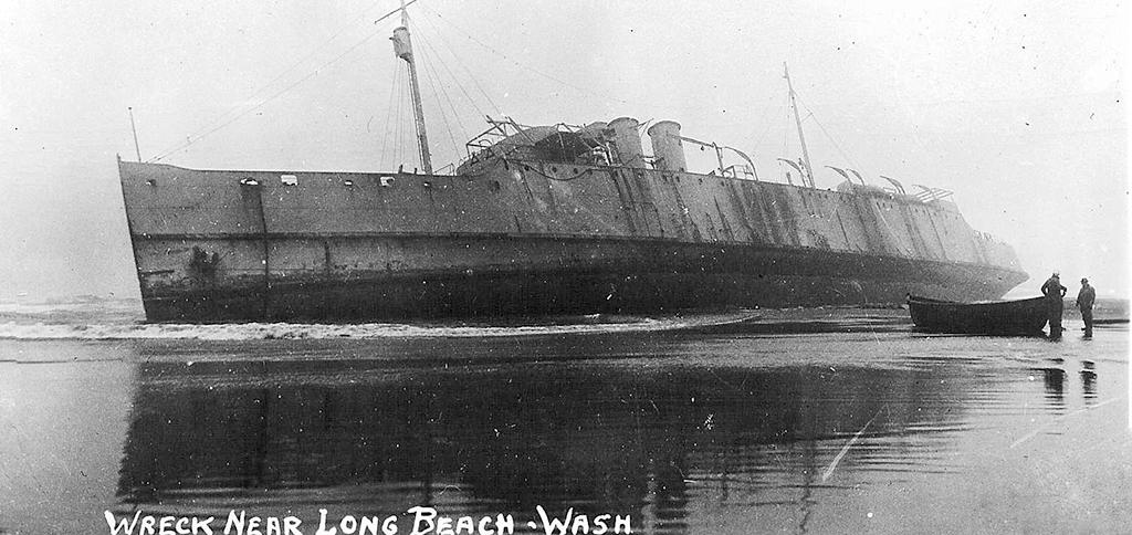 Wreck Near Long Beach