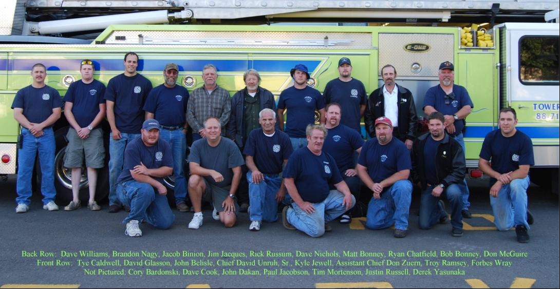 Long Beach Volunteer Fire Department 2008