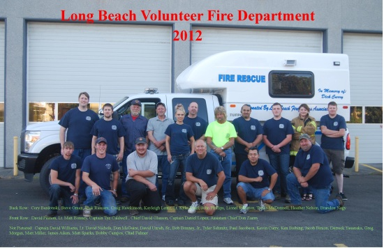 2012 Annual Fire Picture