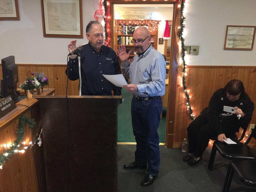 Mayor Phillips Sworn