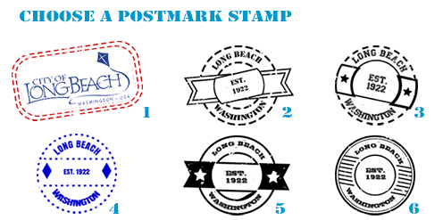 Choose a postmark stamp